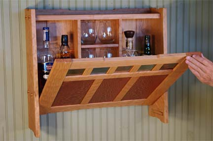 fine woodworking cabinets