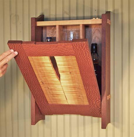 Incroyable Small Mini Bar Fine Wood Furniture By Wayne Ignatuk, Swallowtail Studio,  Jay NY